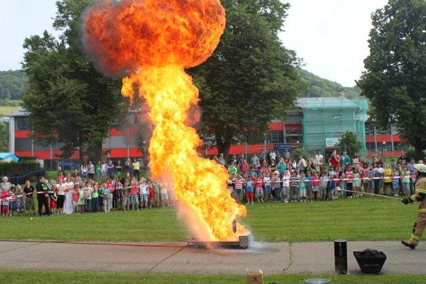 Feuerball Fettbrand