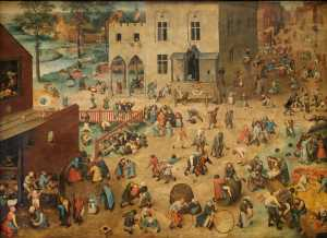Kinderspiele Pieter Brueghel / CC BY-SA (https://creativecommons.org/licenses/by-sa/3.0)