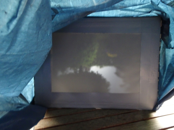 Camera Obscura mit Fresnell-Linse